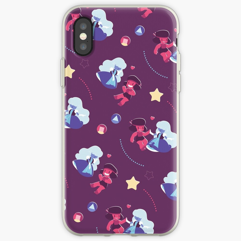 Ruby & Sapphire iPhone Cases & Covers