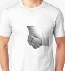 Mother and daughter holding hands Unisex T-Shirt