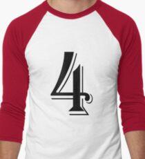 Camiseta ¾ estilo béisbol Number Four