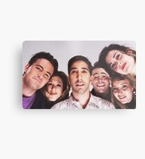 Friends Cast Selfie Metal Print