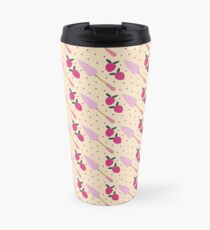 CAKE SERVER AND STRAWBERRIES Travel Mug