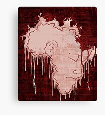 Mourning Continent Canvas Print