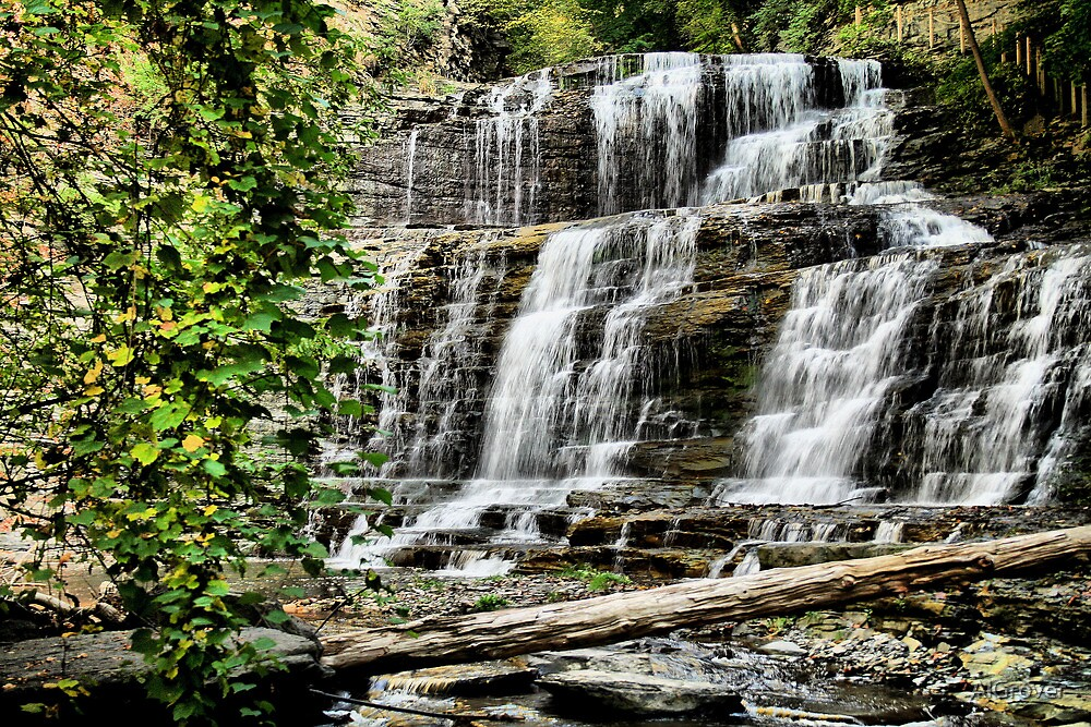 Cascadilla falls by AlGrover