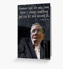 Hawking Talking Greeting Card