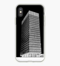 Sheffield University Arts Tower- Black iPhone Case