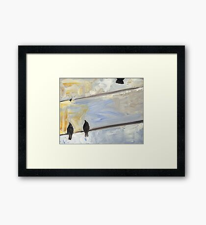 Looking Up 10 Framed Print