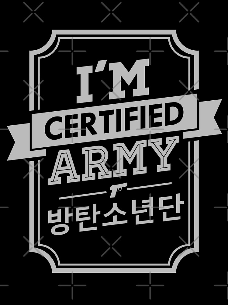 """Certified BTS ARMY"" by skeletonvenus"