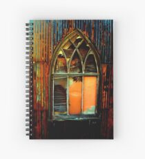 shanty church Spiral Notebook