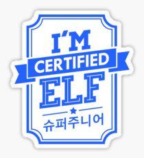 Certified Super Junior ELF Sticker
