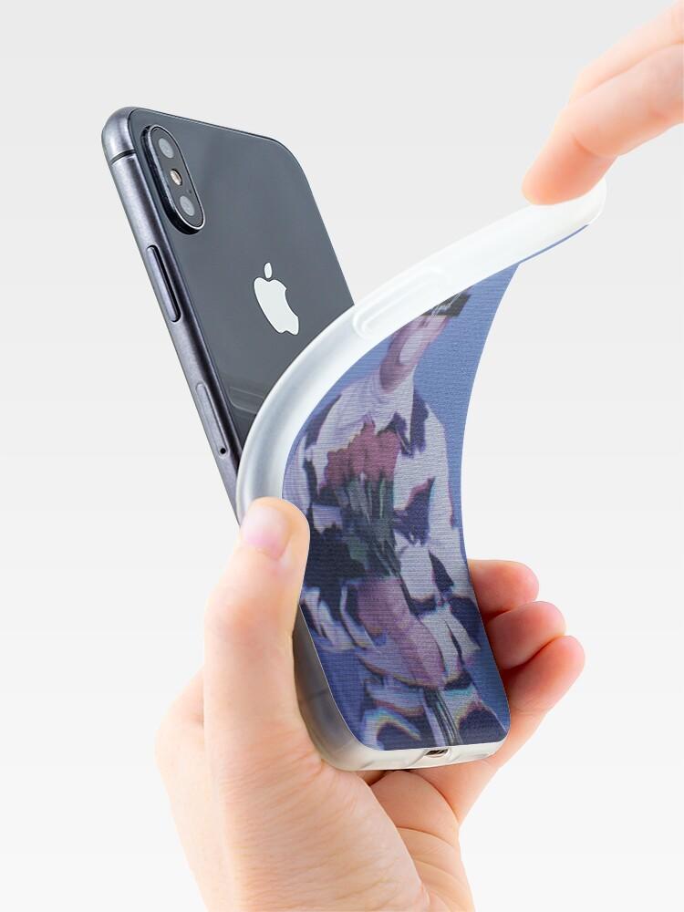 Alternative Ansicht von Kaugummi und Rosen iPhone-Hülle & Cover