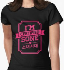 Certified SNSD SONE Women's Fitted T-Shirt