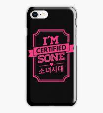 Certified SNSD SONE iPhone Case/Skin