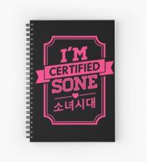 Certified SNSD SONE Spiral Notebook