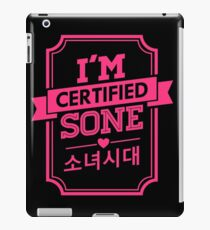Certified SNSD SONE iPad Case/Skin