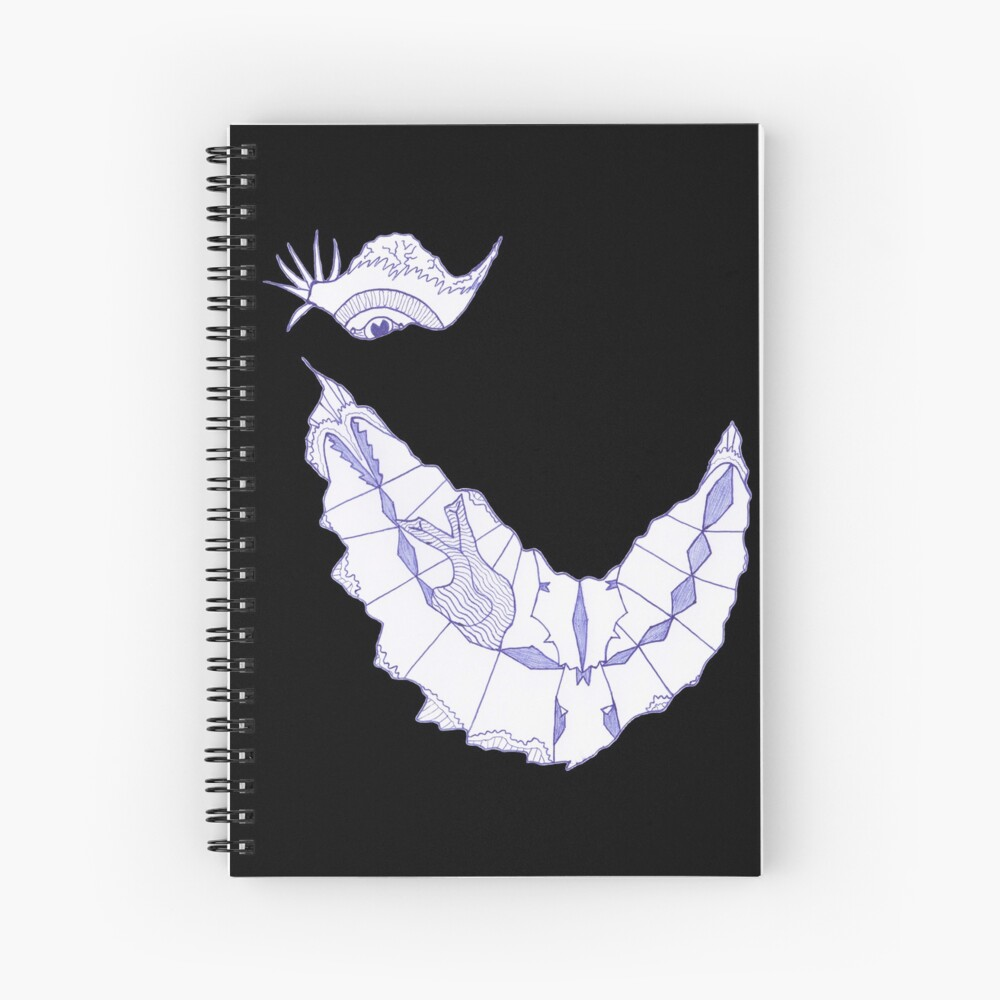 Merch #39 -- Crooked Smile Spiral Notebook