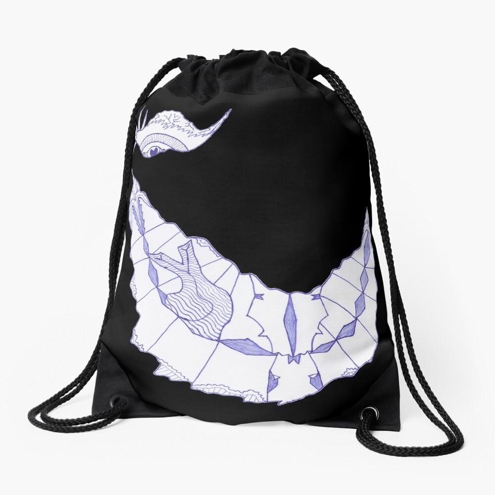 Merch #39 -- Crooked Smile Drawstring Bag