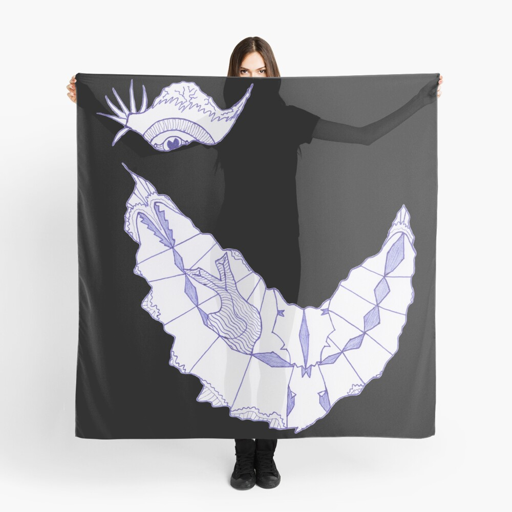 Merch #39 -- Crooked Smile Scarf