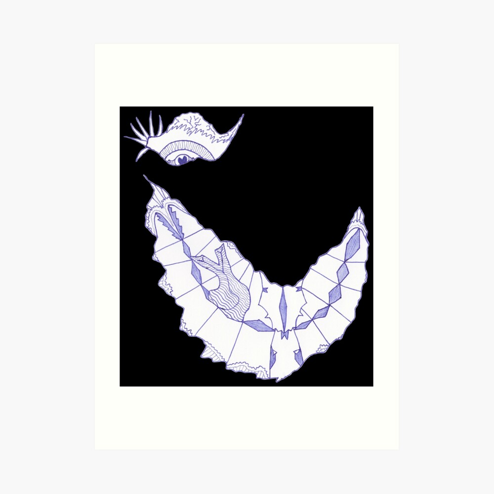 Merch #39 -- Crooked Smile Art Print
