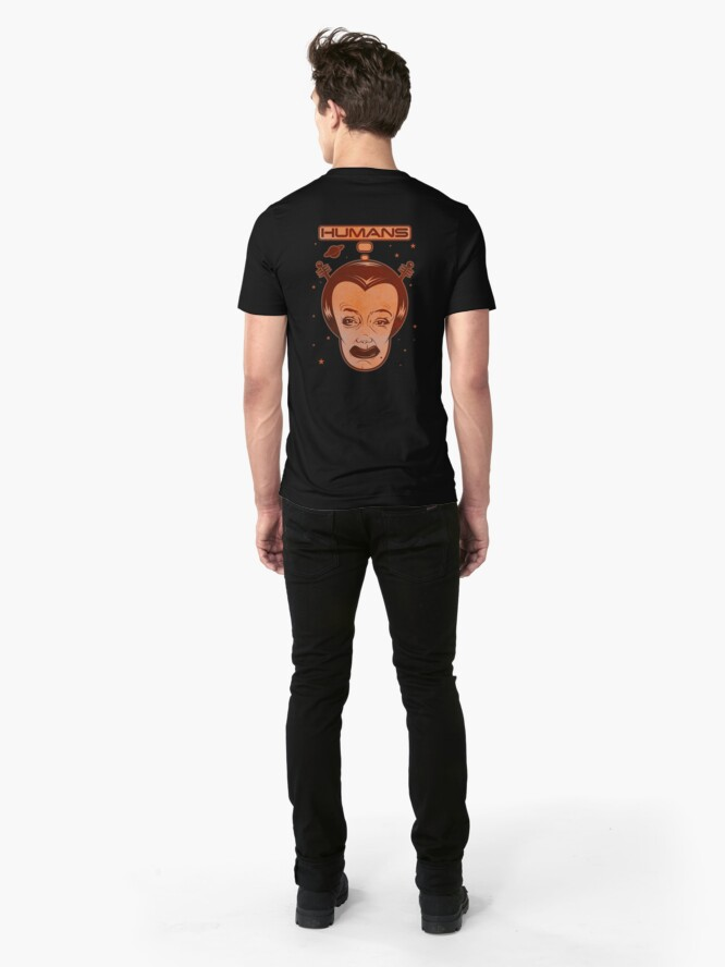 Alternate view of Humans Slim Fit T-Shirt
