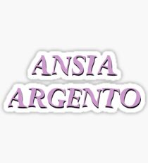 Pegatina A ♥ N ♥ S ♥ I ♥ A ♥ ♥ A ♥ R ♥ G ♥ E ♥ N ♥ T ♥ O