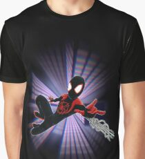 Miles Morales Spider-Verse Graphic T-Shirt