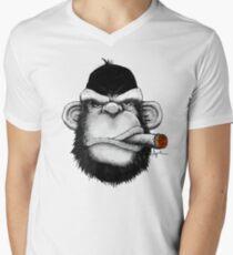 Cigar Monkey Men's V-Neck T-Shirt