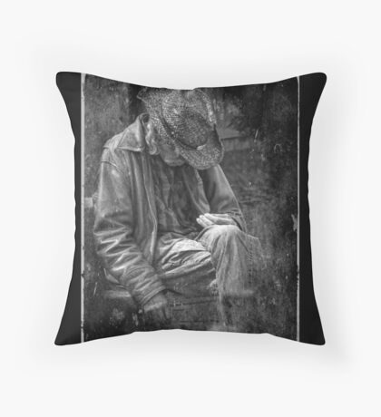 The Wandering Man Throw Pillow