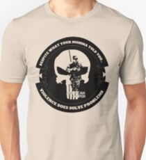 AMERICAN SNIPER CRAFT C.R.A.F.T. VIOLENCE SOLVE PROBLEMS T-Shirt