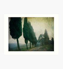 Toscana Vintage Art Print