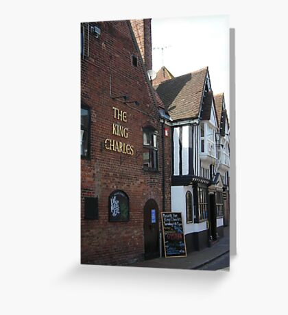 King Charles Inn Greeting Card