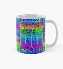 Woodstock 50th Anniversary Poster Classic Mug