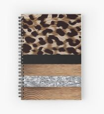 Custom Work - Leopard Design for Tango Shoes Spiral Notebook