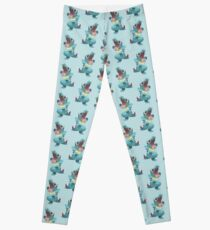 Totodile Low Poly Leggings
