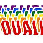 Equality LGBT pride by jamden37