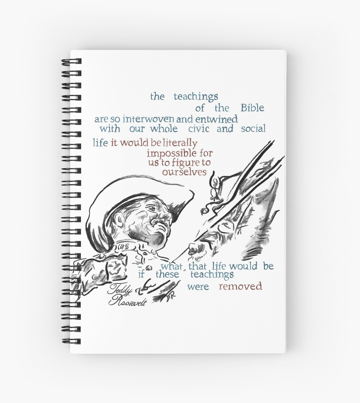 Teddy Roosevelt Picture Quote - America by Douglas Rickard
