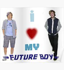I <3 My Future Boy (Version 2) Poster
