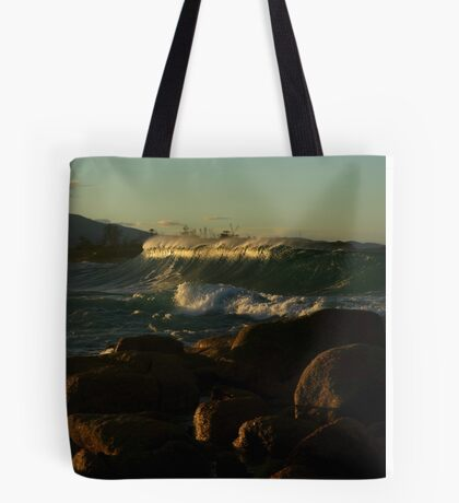 redbill beach. bicheno, tasmania Tote Bag
