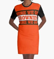 Cleveland Football Brownies Graphic T-Shirt Dress
