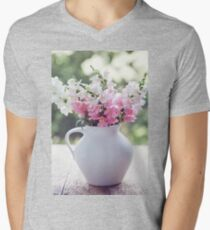 Snapdragon flowers Men's V-Neck T-Shirt