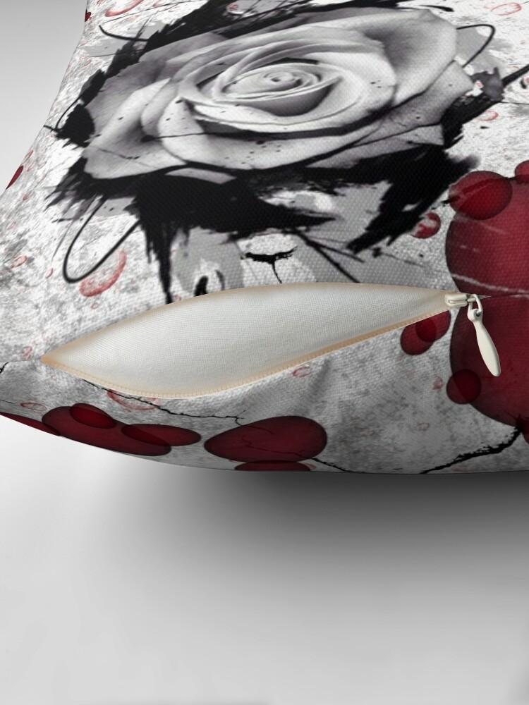 Alternate view of Trash Polka No 12. Digital Collage  Floor Pillow