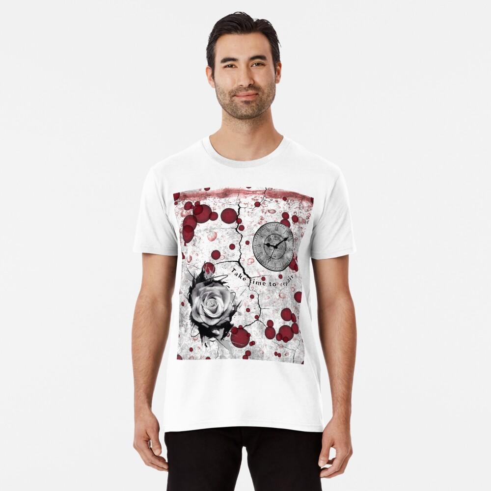 Trash Polka No 12. Digital Collage  Premium T-Shirt