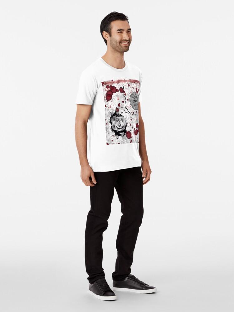 Alternate view of Trash Polka No 12. Digital Collage  Premium T-Shirt
