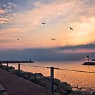 Irondequoit Bay channel by mindrelic