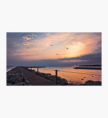 Irondequoit Bay channel Photographic Print