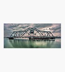Hojack swingbridge - Rochester NY Photographic Print