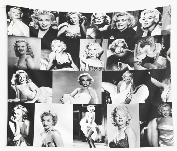 marilyn munroe vintage life canvas  model photo art print black white large A1