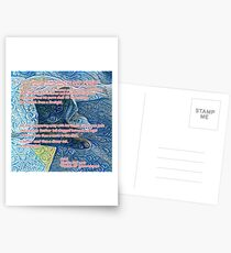 Foolish II by Ariel Postcards