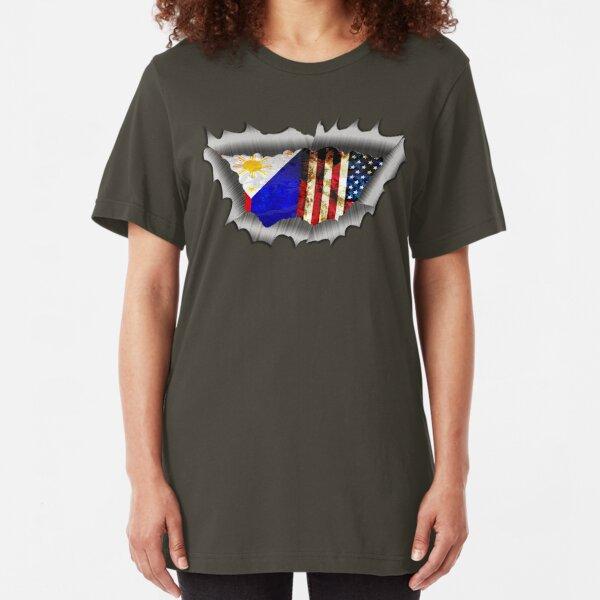 HEART of the FIL AM Slim Fit T-Shirt