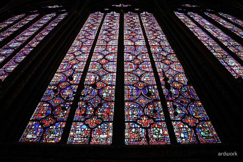 La Sainte Chapelle by ardwork