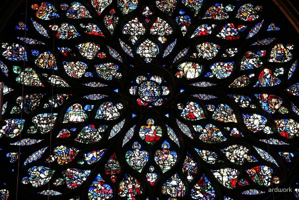 La Rose de la Sainte Chapelle by ardwork